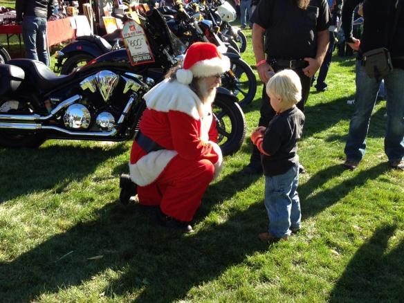 Santa and Kid MGD